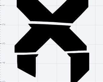 Excision Symbol Vinyl