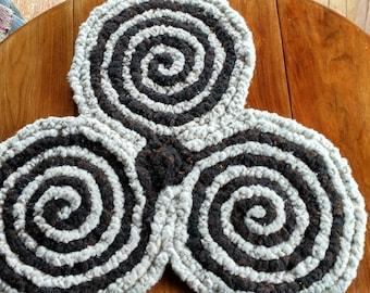Wool Braided Rug Etsy