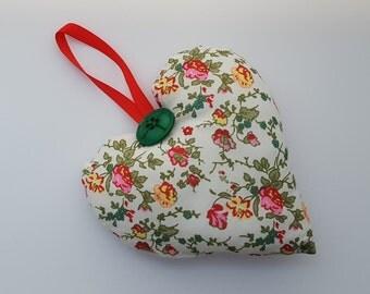 Heart Decoration. Heart Ornament. Handmade Heart. Hanging Heart. Heart Door Hanger.  CLEARANCE SALE