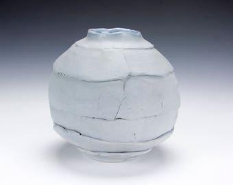 Slate Blue Bud Vase