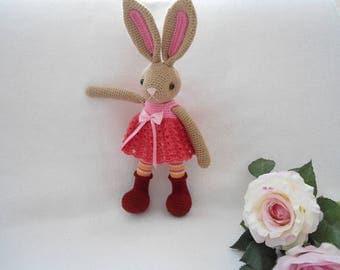 bunny girl crochet pattern