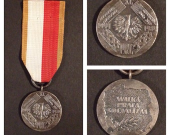 Polish medal 40 years of the peoples republic 1944-1974