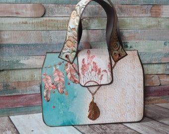 """Mini handbag """"Spirit"""" 21 x 15 cm"""