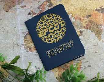 VARIOUS COLORS - Epcot Passport - Collect Stamps Around the World Showcase!