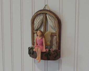 Fairy door with key fairy garden miniature accessories hand for Fairy door with key