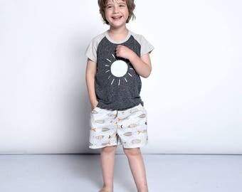 Boy's shorts, girl's shorts, clothes for kids, children shorts,boys shorts, toddler girl shorts, toddler boy shorts, cotton shorts