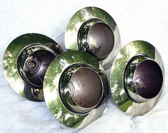 Vintage Salvaged Halo Eyeball Lights and Trim Ring #78
