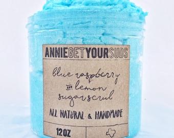 Blue Raspberry Sugar Scrub