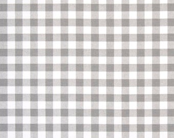 Grey CURTAINS, Gray Drapes, Grey Gingham, Gray Plaid, Childrens Curtains,  Bedroom