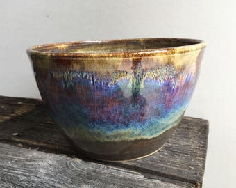 Planter ceramic pottery handmade wheel thrown