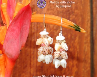 Momi & Kahelelani shell earrings #158
