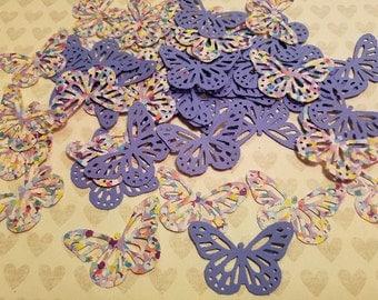 Die Punched Butterflies.  #C-46