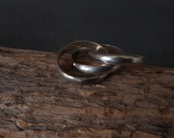 Olympic Silver Ring /Handmade /Sterling Silver / Unique Jewelry