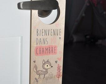 Door hook - welcome in my room