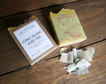 Long Island Iced Tea Cold Process Soap Small Batch Cola Lemon Everything Limited Edition