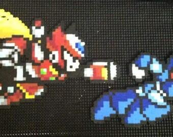 Megaman X Perler