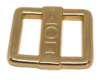 Vintage Weekenders Scarf Slide, Cravat Holder,Sash Slide,Gold Tone Scarf Holder,Belt Slide,Scarf Jewelry,Retro 80s Accessories,T Shirt Slide