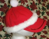 Christmas Hat, Red, Fur T...