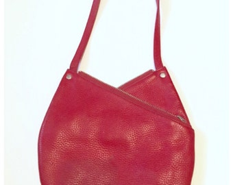 SALE Marc Jacobs Red Leather Double Zip Bag!!!
