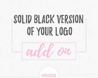 solid black version of your logo,