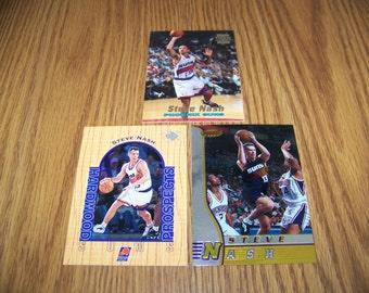 3 Steve Nash (Phoenix Suns) Rookie Cards