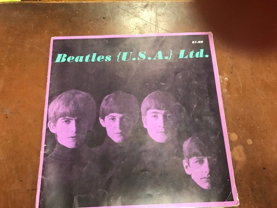 Beatles tour book fan club book 1964