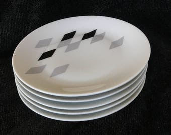 Hutschenreuther Selb Appetizer Plates - Set of 5