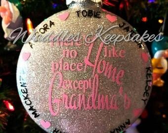 Grandma/Nana Christmas Ornament