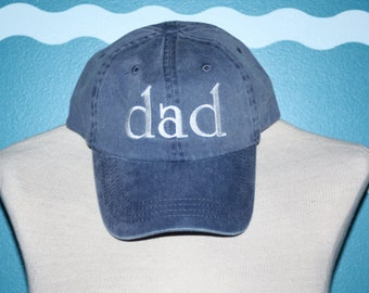 Dad Baseball Cap - Dad ball cap- Embroidered baseball cap - custom dad hat - Custom embroidery - Hat for dad - Baby announcement Gift