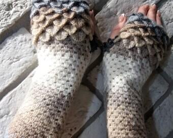 Fingerlose Handschuhe Womens Handschuhe Arm Warners Fäustlinge in Colorful Wrist Warmers Knit Fingerlose Winterhandschuhe