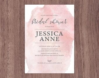 Bridal Shower Invitation - Printable Download