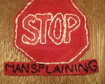 Stop Mansplaining Patch