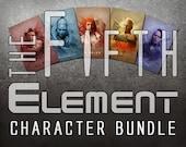 Fifth Element Character Bundle