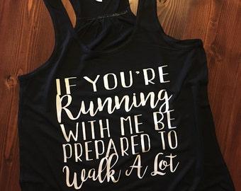 No Running - Racerback