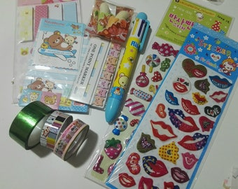 Lot for scrapbooking. Stick notes, memo and stickers
