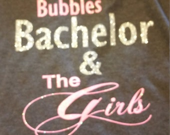 The Bachelor Show T-shirts, Bubbles Bachelor & the girls, 2017 Bachelor show