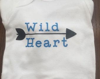 Wild Heart onesie.