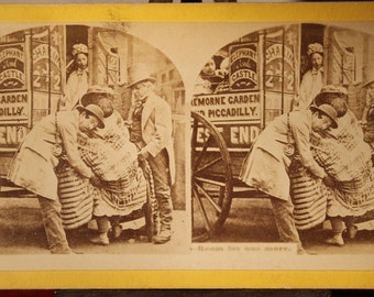 Stereoview Picturesque views W.M. Chase Yellow mount Wide Wide World Circus