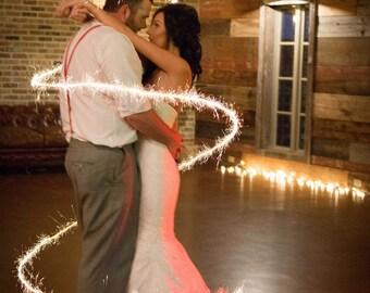 Sparkler overlay, hearts, night, couples photography, wedding photo ideas