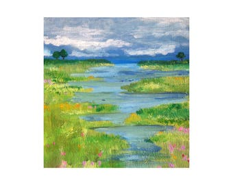 The Marsh Print