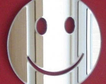 Smiley Mirror - 5 Sizes Available