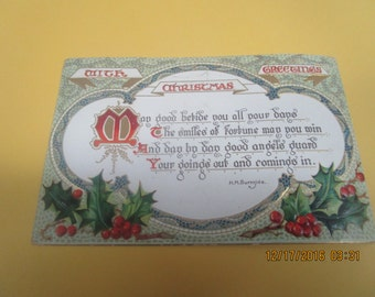 Christmas Greeting  by Burnside