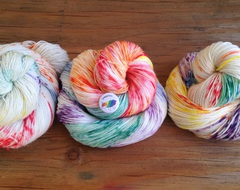 Sheepicorn - Hand Dyed Yarn