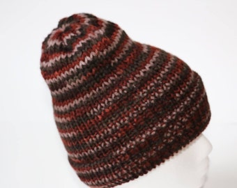 double knit reversible hat