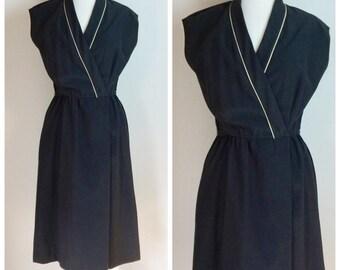 Vintage 70's day dress large