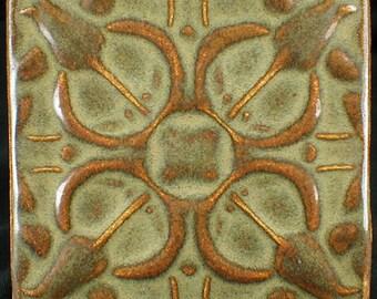 Tulip tile, 4x4, kitchen tile, backsplash tile, fireplace tile