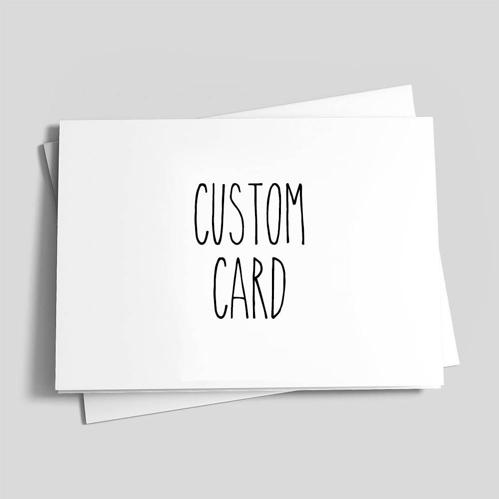 Custom card custom greeting card custom birthday card customized custom card custom greeting card custom birthday card customized card create your m4hsunfo