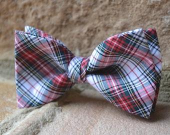 plaid bow tie for boys,red plaid bow ties,kids bow ties,bow tie for boys,red plaid