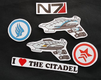 Mass Effect Stickers