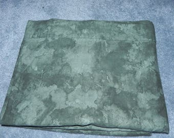 Flat Twin Green Abstract Bed Sheet